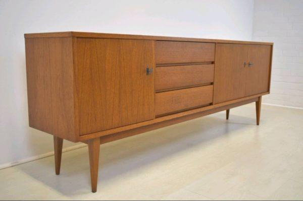 Danish Design Credenza : Sideboard er vintage mid century danish design credenza u stilelite