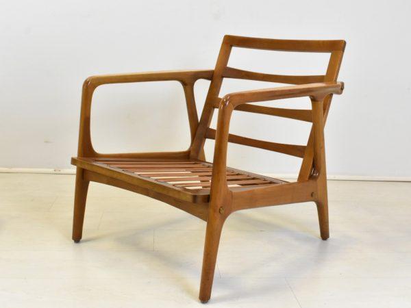 sessel easy chair danish design mid century vintage 60er stilelite. Black Bedroom Furniture Sets. Home Design Ideas