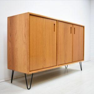 Sideboard 70er Vintage Mid Century Kommode Teak Hairpin