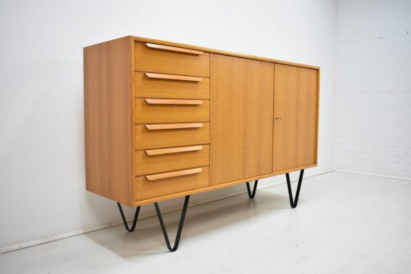 WK Sideboard 60er Vintage Mid Century Kommode Teak Danish