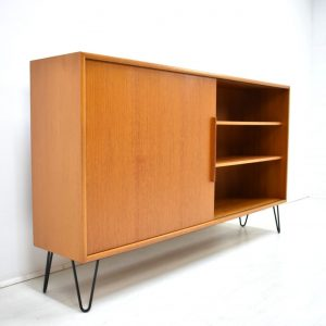 WK Kommode Sideboard Hairpin Teak Danish Design 60er