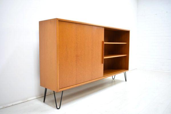 WK Kommode Sideboard Hairpin Teak Danish Design 60er