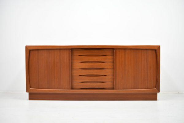 Dyrlund Sideboard Teak Danish Mid Century 60er