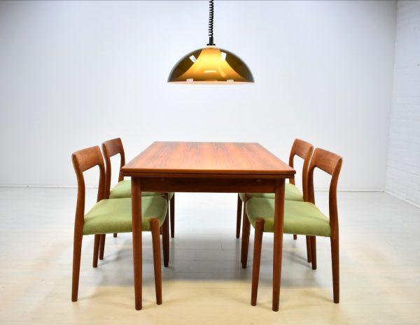 4 Stühle Niels O. Möller Modell 77 Teak