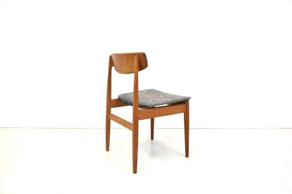 4 st hle mann m bel danish design teak mid century 60er. Black Bedroom Furniture Sets. Home Design Ideas